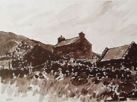 Sir Kyffin Williams - Hendre Waelod